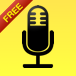 Audio Note Book Free: Pristine All-Day Voice Recorder, Super 2x Speed Playback, and Widescreen Text Editor